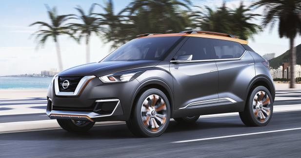 Nissan confirme la production du crossover Kicks