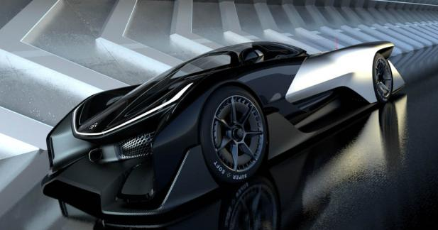 Faraday Future FFZERO1 : la Batmobile 100% électrique