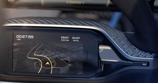 Un smartphone dans le volant en guise d'ordinateur de bord