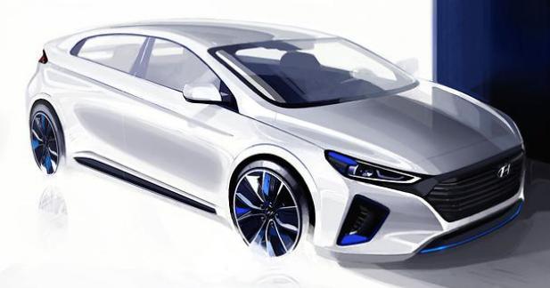 Nouveaux teasers pour la Hyundai Ioniq