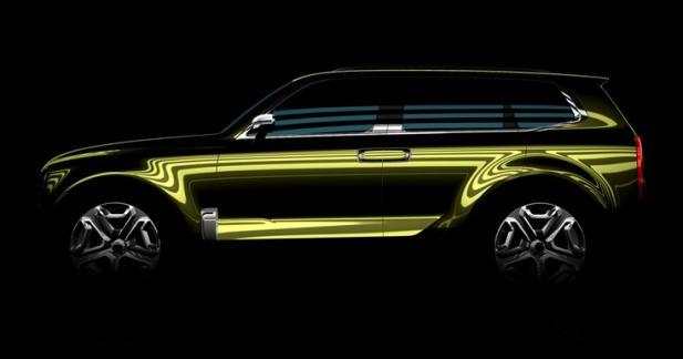 Un concept de grand SUV Kia pour le salon de Detroit