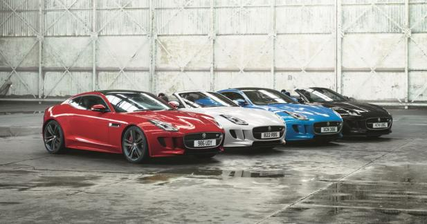 Jaguar F-Type British Design : aux couleurs de l'Union Jack