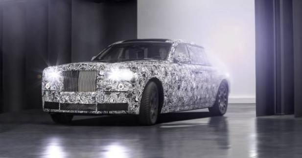 Rolls-Royce met en lumière un mystérieux modèle