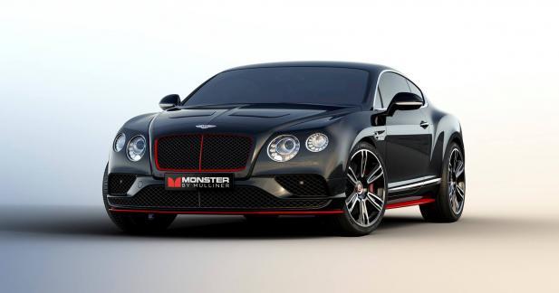 La Bentley Continental GT monte le son avec Monster