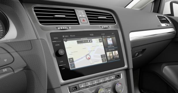 Le futur système multimédia de Volkswagen est au CES
