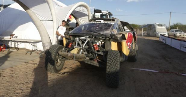 Dakar 2016: crash et tonneaux pour Loeb dans l'étape 8