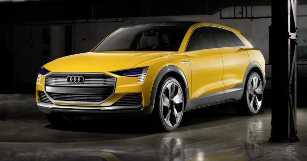 Audi h-tron quattroconcept : place à l'hydrogène