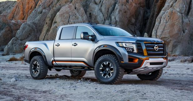 Nissan Titan Warrior Concept: chasseur de Ford Raptor