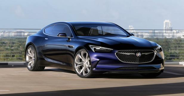La Buick Avista récompensée à Detroit pour son style