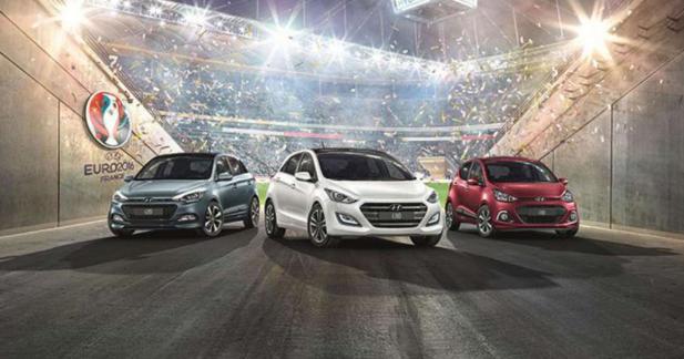 Hyundai se met à l'heure de l'Euro 2016