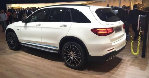 Le Mercedes GLC aura une version hydrogène en 2017