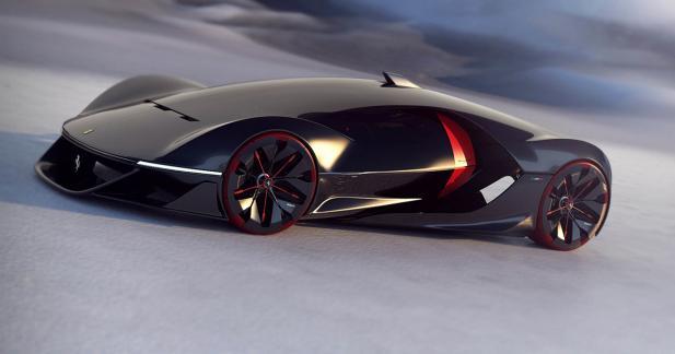 Ferrari récompense le concept de jeunes designers français