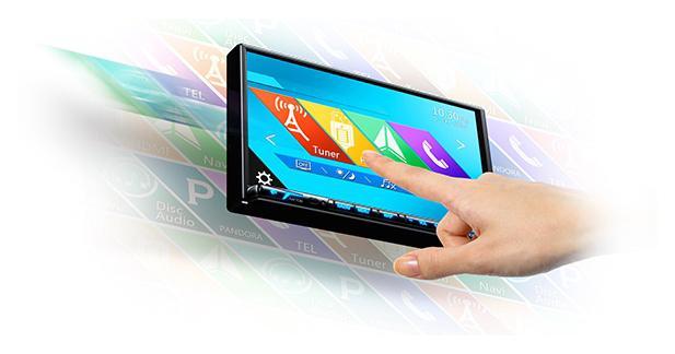 Clarion présente une source compatible avec son système hi-fi full digital