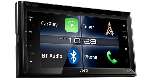 JVC dévoile son premier autoradio CarPlay