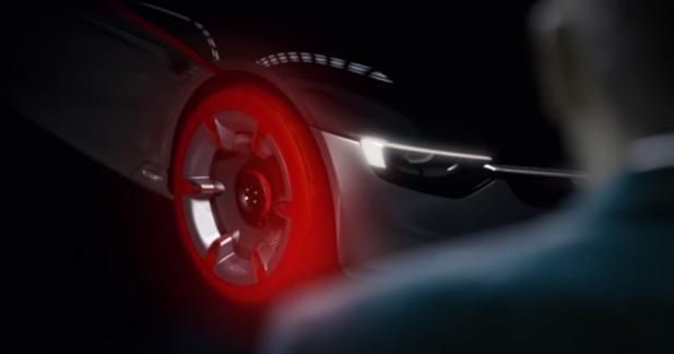 L'Opel GT Concept se dévoile un peu plus