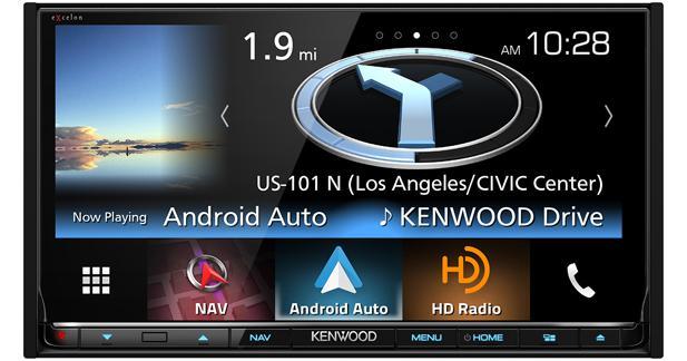 Un nouvel autoradio avec CarPlay et Android Auto chez Kenwood