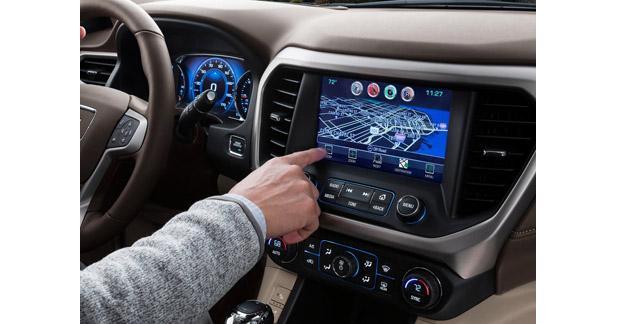 Le GMC Acadia intègre le CarPlay et Android Auto