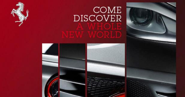 Une nouvelle Ferrari en approche