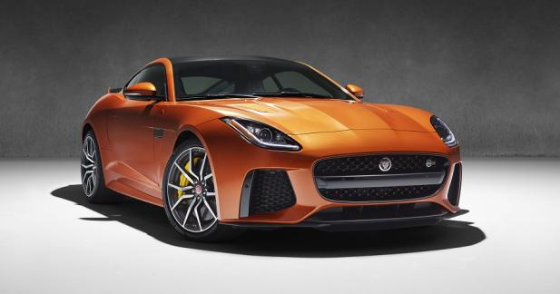 Jaguar officialise la F-Type SVR