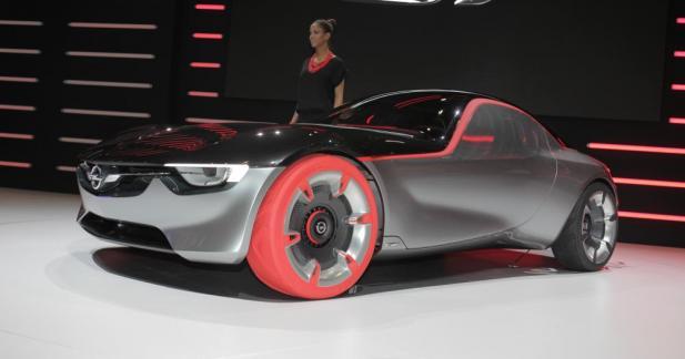 Opel GT Concept: un éclair qui met l'eau à la bouche