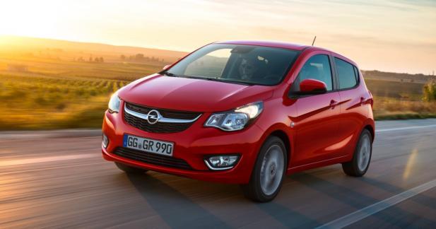 Opel Karl GPL: la citadine met les gaz
