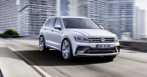 Nouveau Volkswagen Tiguan: les tarifs