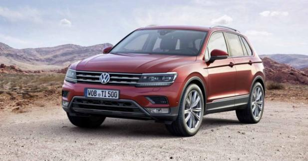 nouveau volkswagen tiguan les tarifs. Black Bedroom Furniture Sets. Home Design Ideas