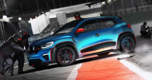 Renault Kwid Racer & Climber concept: pour le fun?