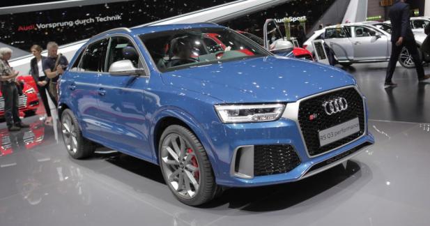Audi RS Q3 Performance: enfin au niveau de la RS3