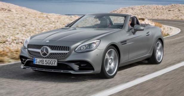 Mercedes SLC: les tarifs