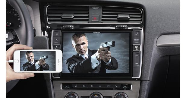 Le X90D-G7 intègre également la radio numérique