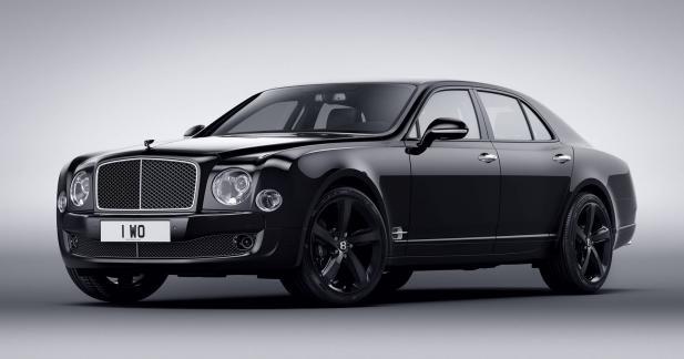 Bentley Mulsanne Speed Beluga Edition: blanc c'est noir