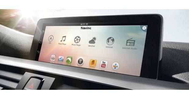Navinc propose un système multimédia Android pour compléter un autoradio d'origine