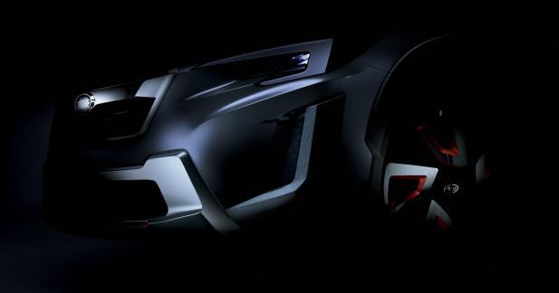 Un aperçu du futur SUV Subaru au salon de Genève