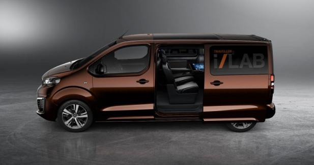 Peugeot Traveller i-Lab : business class connectée