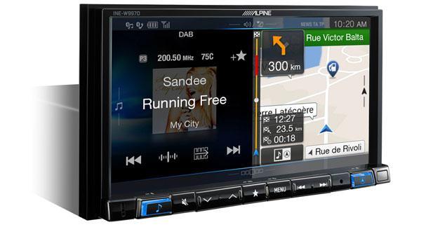 Alpine propose un nouvel autoradio multimédia innovant