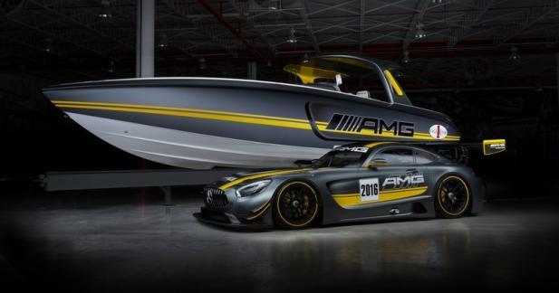 Mercedes-AMG GT3: et maintenant, le bateau!