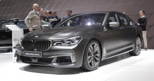 BMW M760Li xDrive : cœur de Rolls-Royce