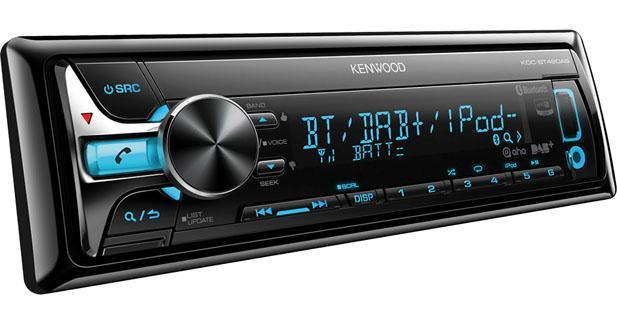 Kenwood présente un nouvel autoradio avec tuner DAB intégré