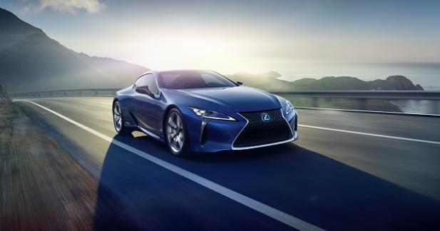 Lexus LC 500h: la GT se met à l'hybride