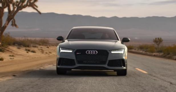 Découvrez le point commun entre un oignon et l'Audi RS7 Performance