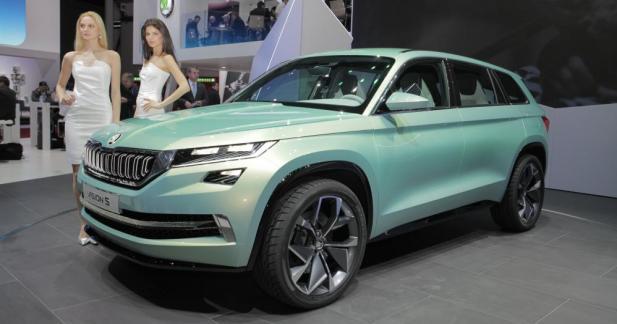 Skoda VisionS : un avant-goût du futur SUV sept places