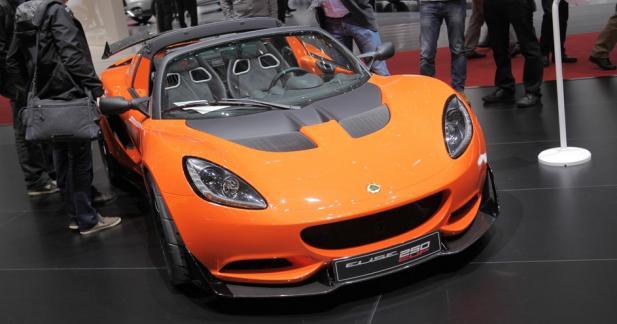 Lotus Elise Cup 250 : le sport à l'état pur