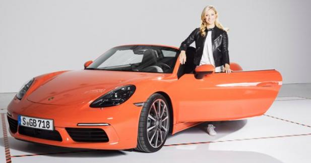 porsche a une nouvelle ambassadrice. Black Bedroom Furniture Sets. Home Design Ideas