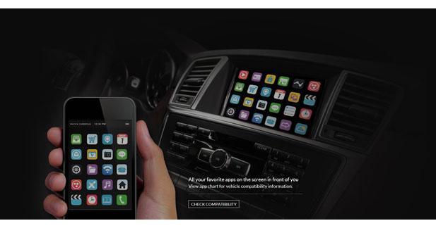 DashConnect dévoile une interface pour diffuser le contenu d'un Smartphone sur un autoradio d'origine