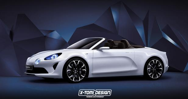 Et si la nouvelle Alpine se déclinait en cabriolet?