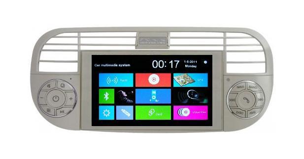 Phonocar dévoile un autoradio GPS spécifique pour la Fiat 500
