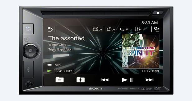 Sony présente un nouvel autoradio multimédia avec technologie NFC