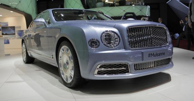 Bentley Mulsanne restylée : la folie des grandeurs