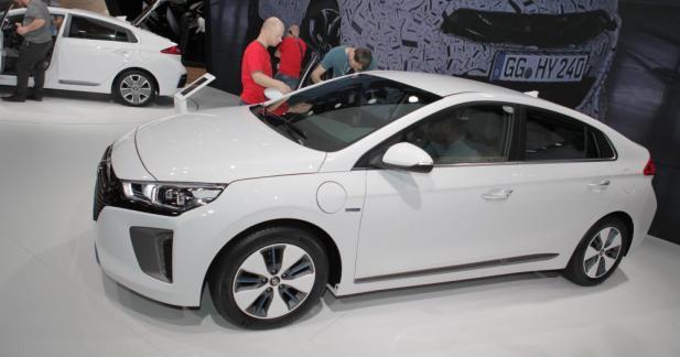 Hyundai Ioniq: l'hybride rechargeable et l'électrique sont à Genève